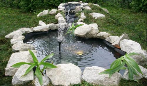 Садовый водоем своими руками фото